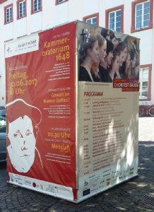 Plakate des Chorfests Baden; Quelle: Karin Wilke