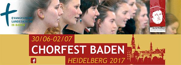 Quelle: ekiba/Landesverband der ev. Kirchenchöre in Baden